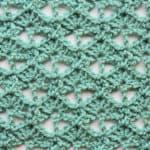 Spiked Fans Free Crochet Stitch Tutorial