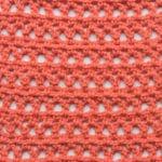 Railway Lace Free Crochet Stitch Tutorial