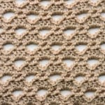 Triangle Lace Free Crochet Stitch Tutorial