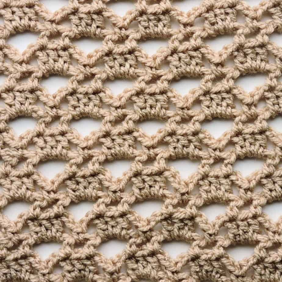 Triangle Lace CrochetKim Free Crochet Stitch Tutorial