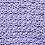 V Stitch Lace Free Crochet Stitch Tutorial