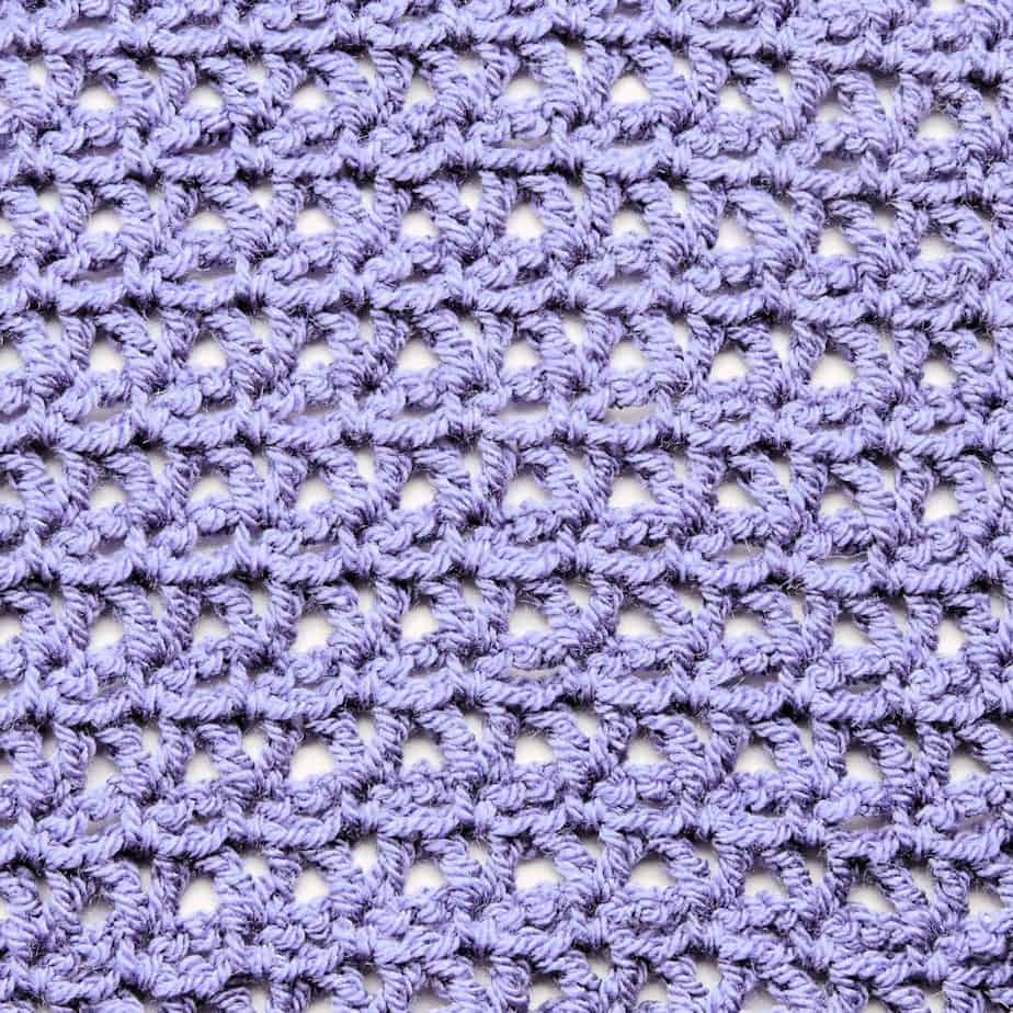 V Stitch Lace Free CrochetKim Crochet Stitch Tutorial