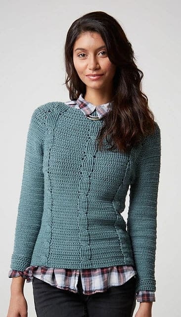 CrochetKim Giveaway: Top-Down Crochet Sweaters by Dora Ohrenstein