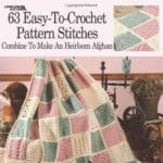 CrochetKim Book Review: 63 Easy to Crochet Pattern Stitches from Leisure Arts