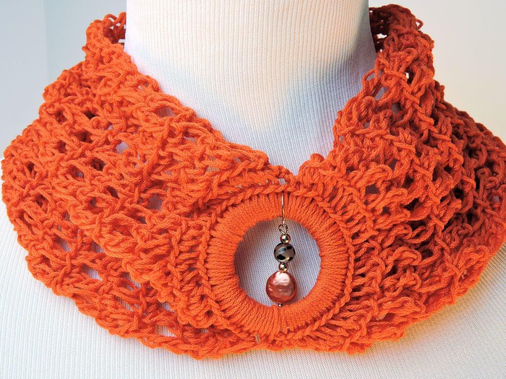 Bandeau Cowl Free CrochetKim Crochet Pattern