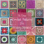 Roundup: 25 Free Crochet Patterns for Granny Squares