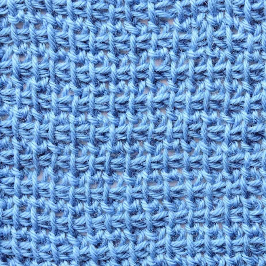 Tunisian Extended Stitch in TSS CrochetKim Crochet Stitch Tutorial