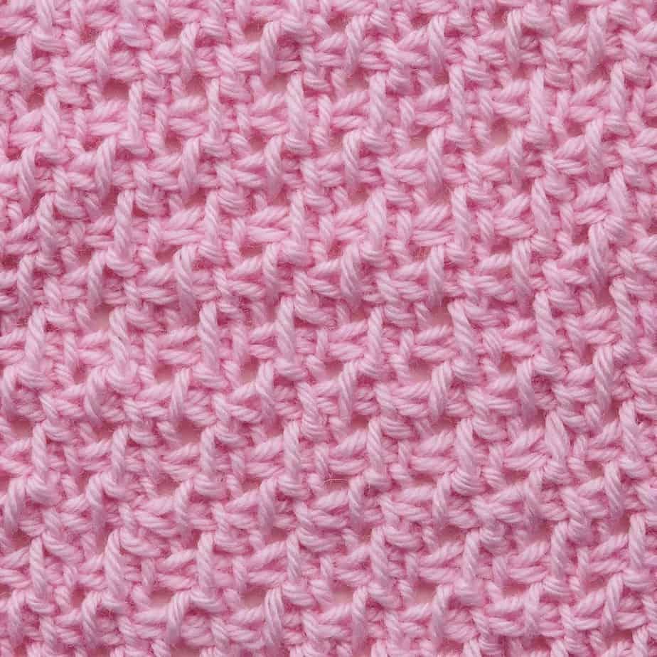 Tunisian Alternating Half Slip Stitch and Yarn Over CrochetKim Crochet Stitch Tutorial