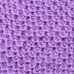Tunisian Honeycomb Stitch with Japanese Purl Crochet Stitch Tutorial