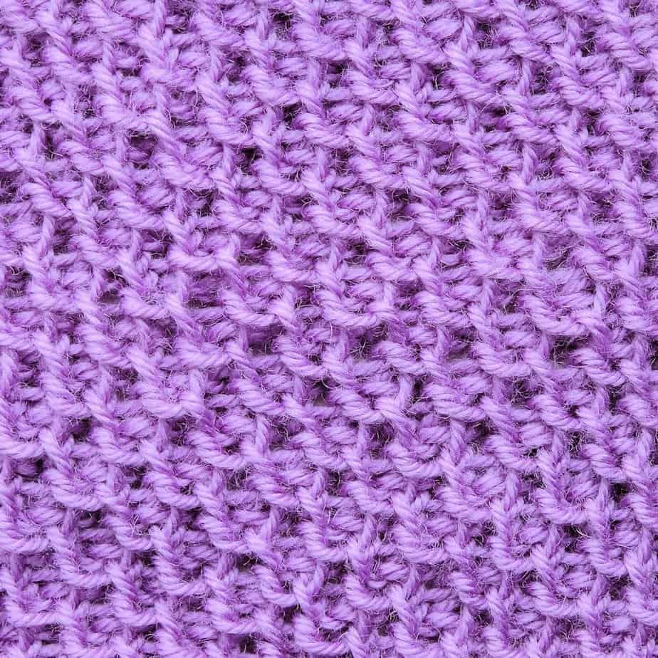 Tunisian Honeycomb Stitch With Japanese Purl Crochet Stitch Tutorial