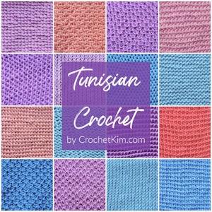 Over 30 Fabulous Free Crochet Lace Stitches: CrochetKim Crochet