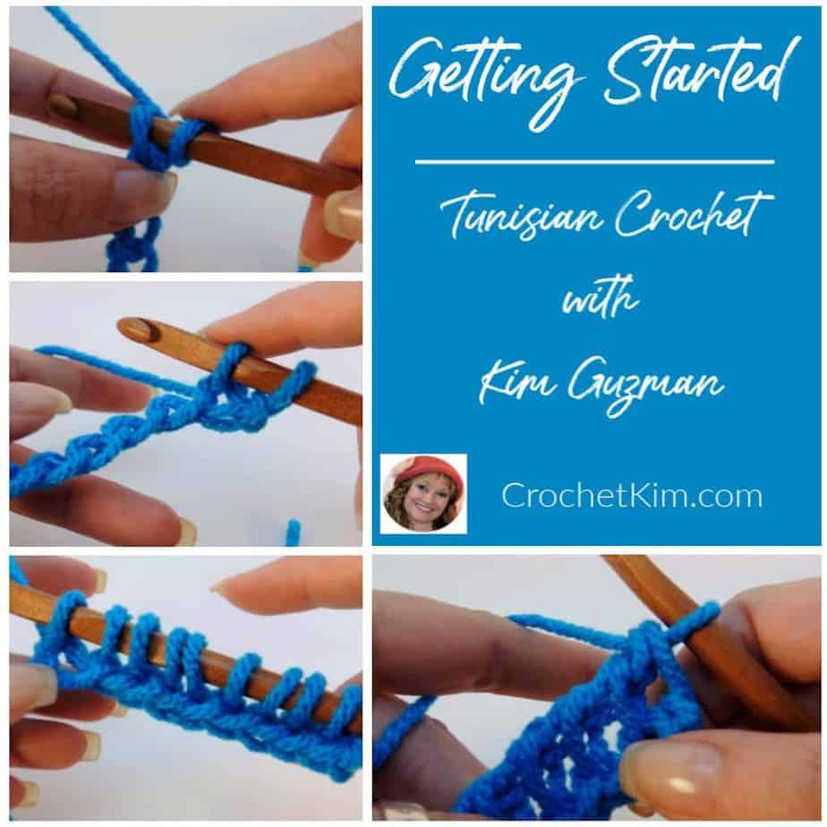 Getting Started with Tunisian Crochet: Foundation Row CrochetKim Stitch Tutorial