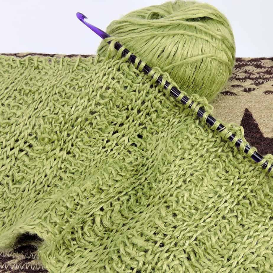 Tunisian crochet: how to choose your hook