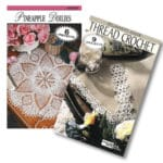 CrochetKim Giveaway: Two Leisure Arts Books for Thread Crochet