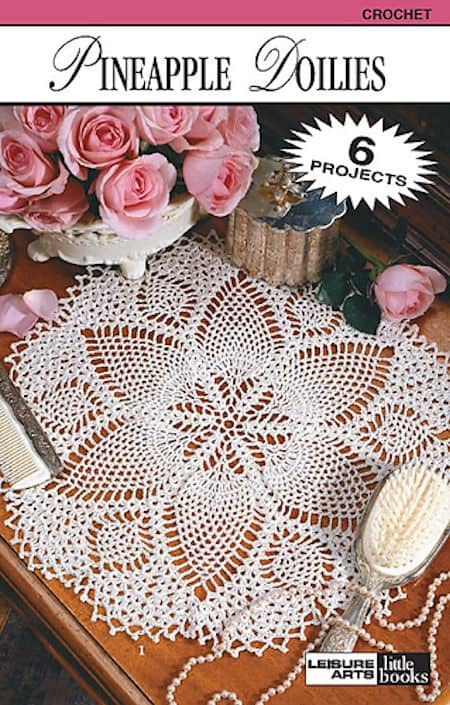 CrochetKim Giveaway: Two Leisure Arts Books for Thread Crochet