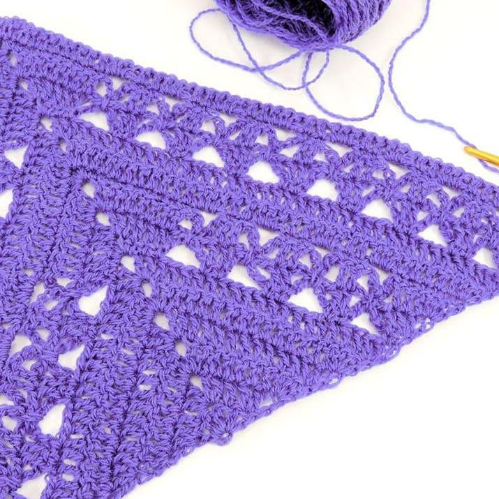 Lunar Crossings Shawl CrochetKim Free Crochet Pattern