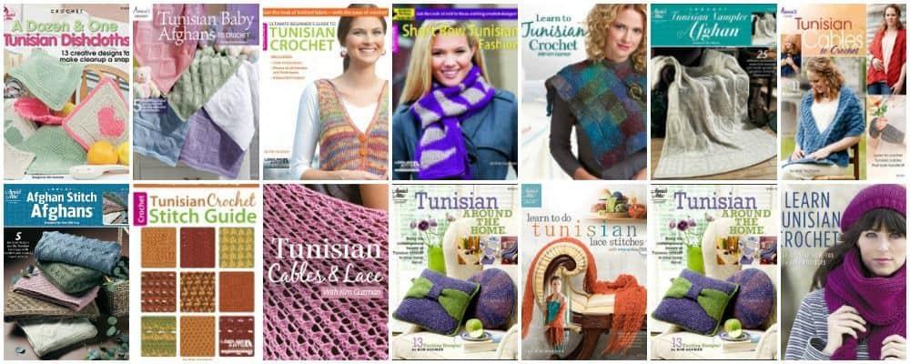 Kim Guzman Portfolio of Books   Crochet and Tunisian crochet