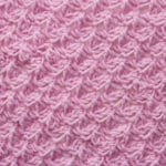 Tunisian Rose Petal Lace Crochet Stitch Tutorial