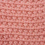 Tunisian Stacked Clusters Crochet Stitch Tutorial