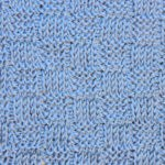Tunisian Basketweave Ver. 1 Knit and Purl Crochet Stitch Pattern