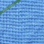Tunisian Flat Simple Stitch fka Modified Simple Stitch
