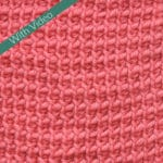 Tunisian Twisted Simple Stitch Crochet Stitch Tutorial
