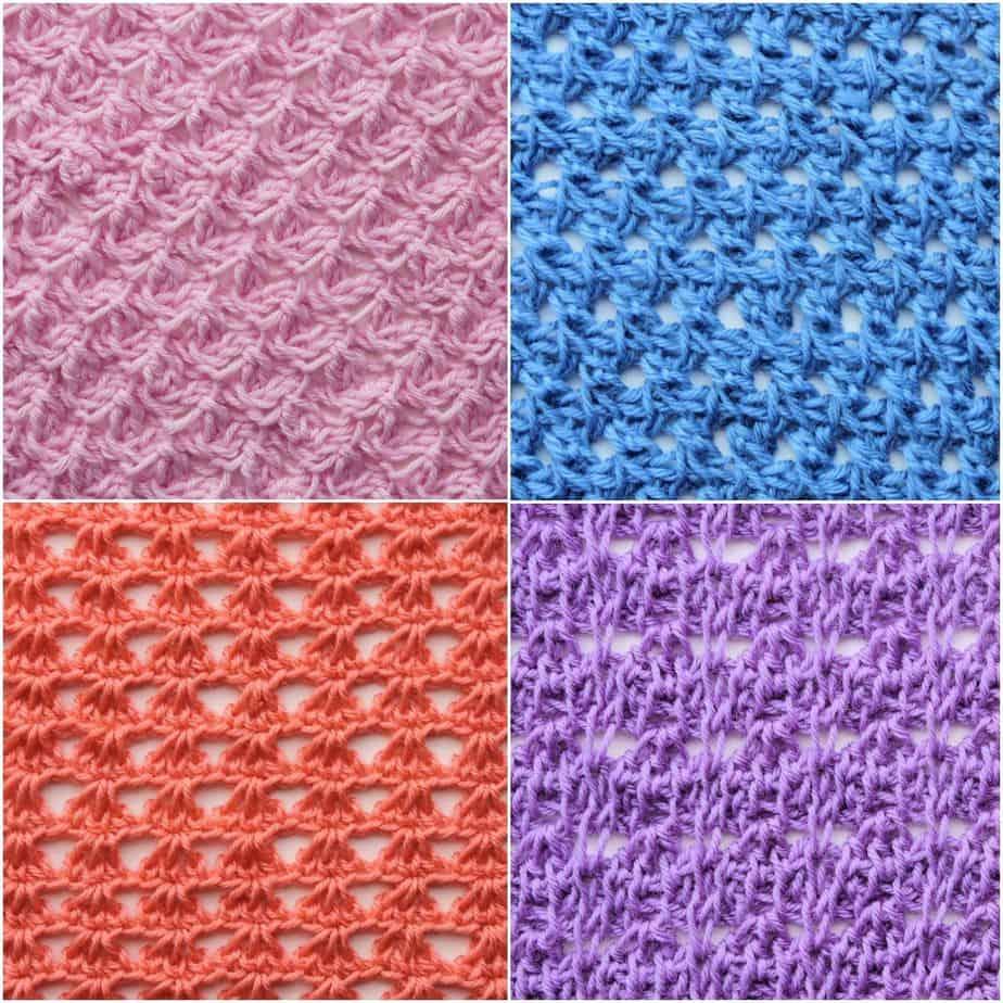 CrochetKim Tunisian Crochet Stitch Library