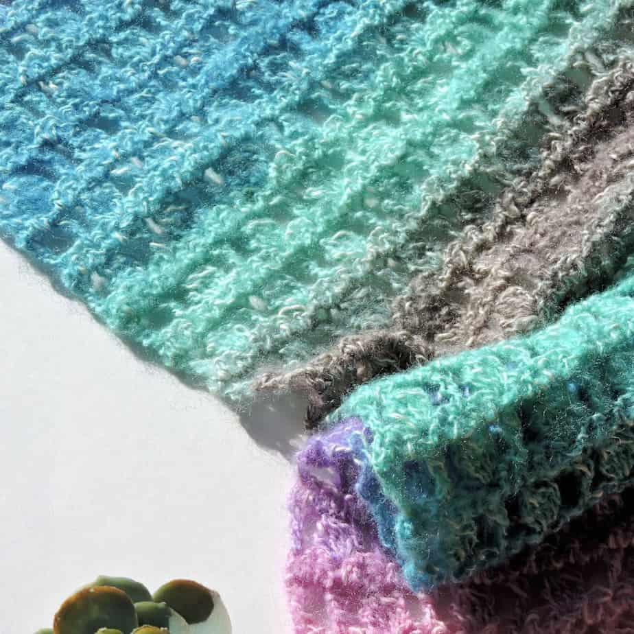 Unicorns in the Mist Shawl CrochetKim Free Crochet Pattern