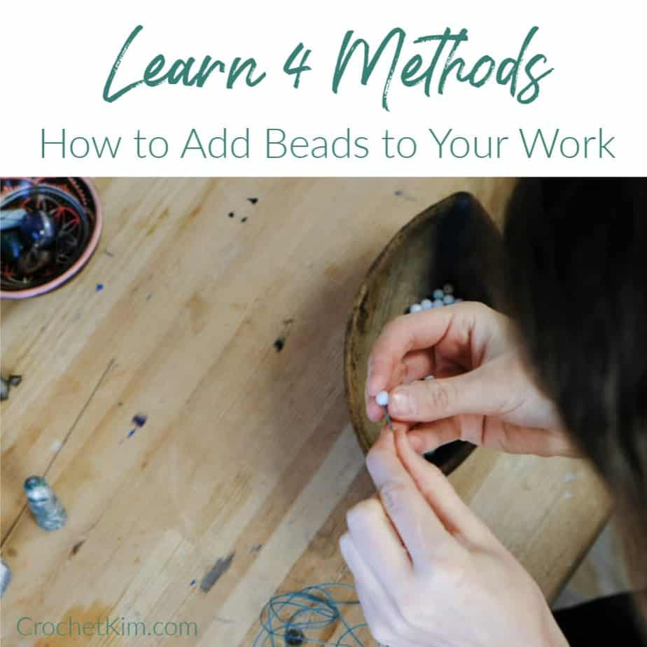 How to Add Beads to Your Crochet | Learn Four Different Methods | CrochetKim image by Вадим Захарищев via 123rf.com
