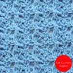 Tunisian Barbed Wire Crochet Stitch Tutorial