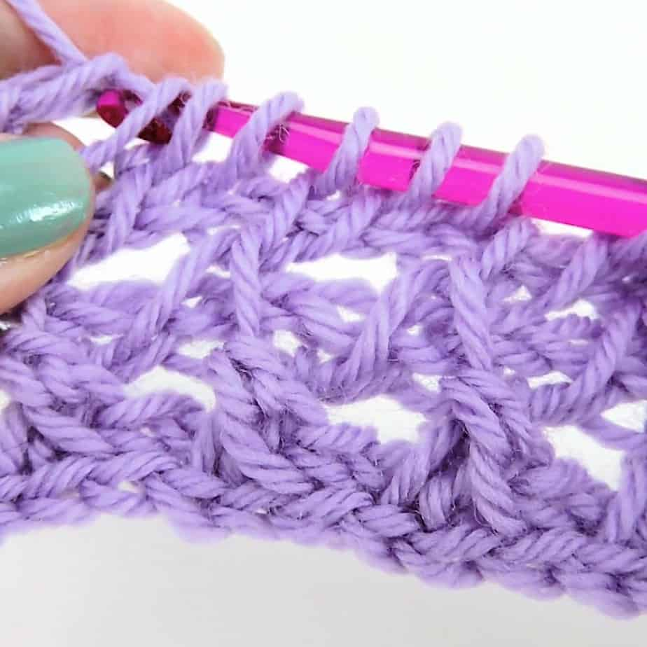 Learn to Make Tunisian Crochet Lace with Free Patterns and Stitches