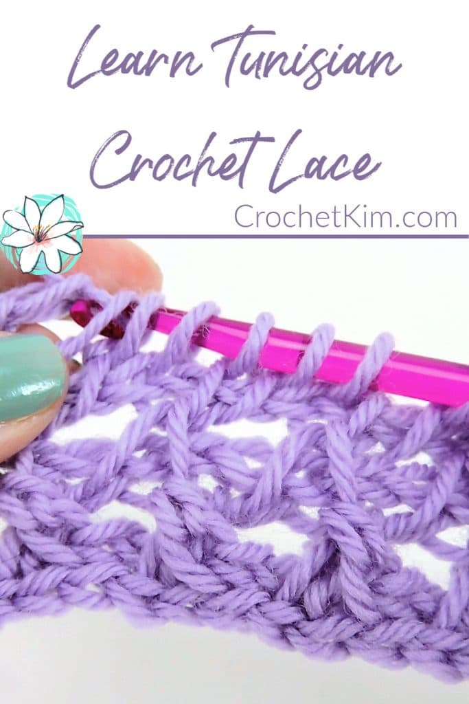 Learn to Make Tunisian Crochet Lace
