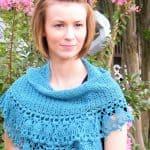 Paper Dolls Shawlette Free Crochet Pattern