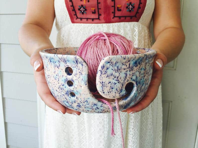 Creativity Happens Yarn Bowl Giveaway from CrochetKim