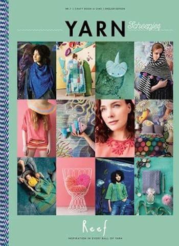 CrochetKim Book Review: YARN Scheepjes Reef