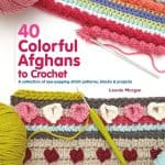 CrochetKim Book Review: 40 Colorful Afghans by Leonie Morgan